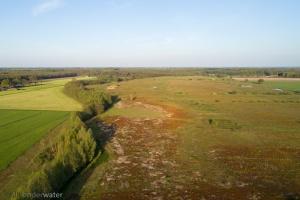 kaderrichtlijn water, drone, luchtfotografie, waterschappen, unie van waterschappen, natuurontwikkeling,  Oost Nederland, veranderend klimaat, waterberging, voormalig broekgebied, Veluwe